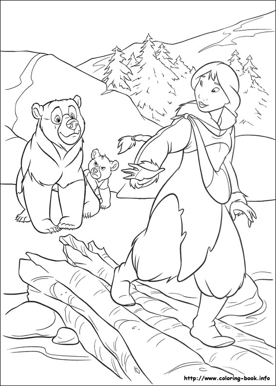 58 brother bear 2 pictures to print and color last updated may 4th