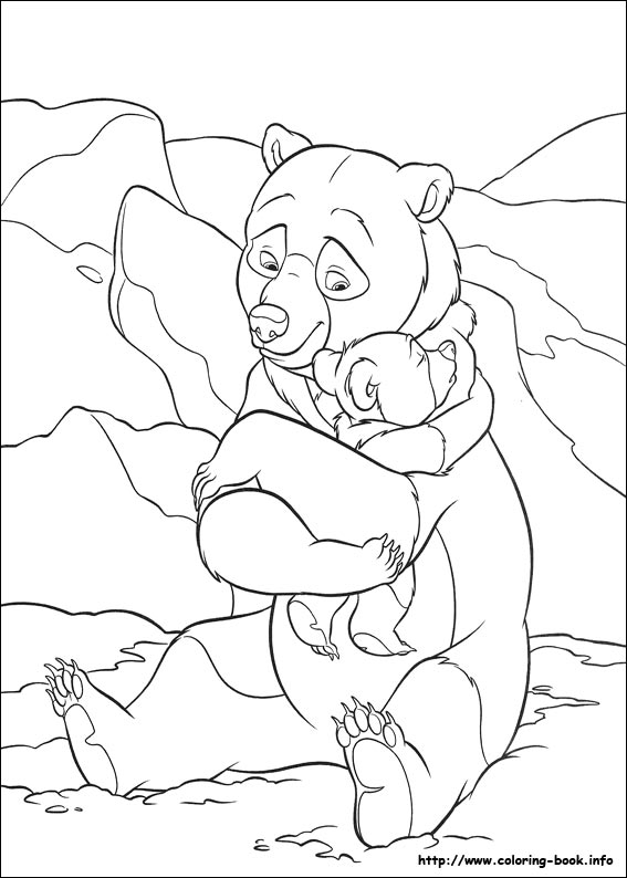 bear 2 coloring picture disney brother bear coloring pages brother bear 2 coloring pages