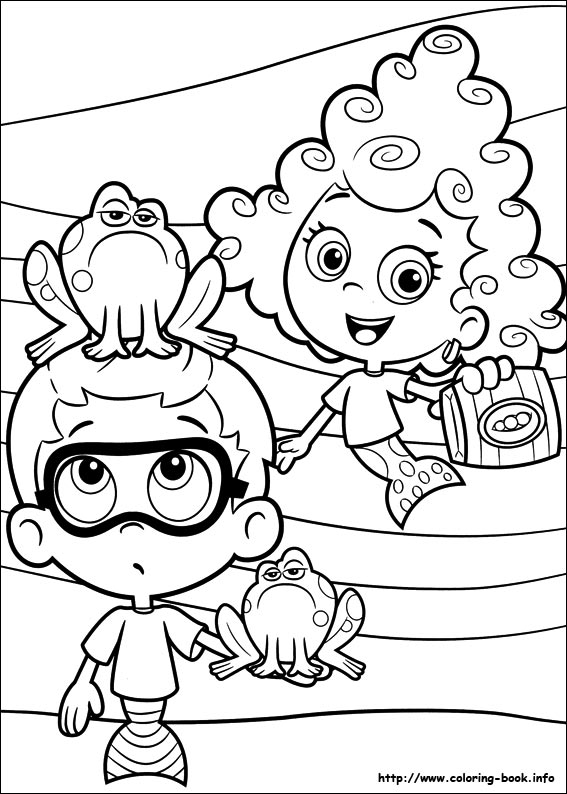 Bubble Guppies coloring pages on Coloring-Book.info