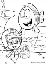 Bubble Guppies coloring pages on Coloring Bookinfo