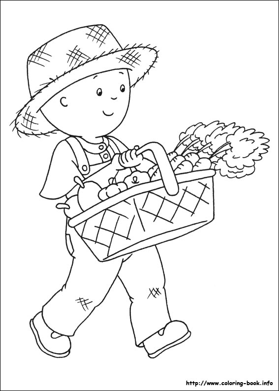 Caillou Coloring Pages Coloring Coloring Pages