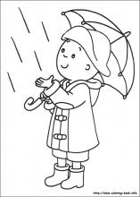 Caillou coloring pages on ColoringBookinfo