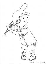 Caillou Coloring Pages On Coloring Book Info