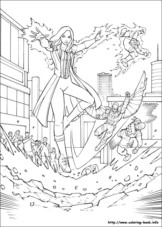 Captain America Civil War coloring pages on ColoringBookinfo