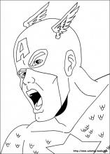 last updated july 10th - Captain America Pictures To Color