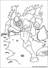 Captain America coloring pages on Coloring-Book.info