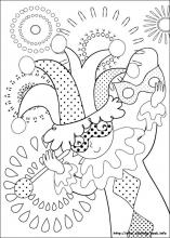 Carnival coloring pages on Coloring-Book.info