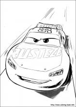 Cars 3 Coloring Pages On Book