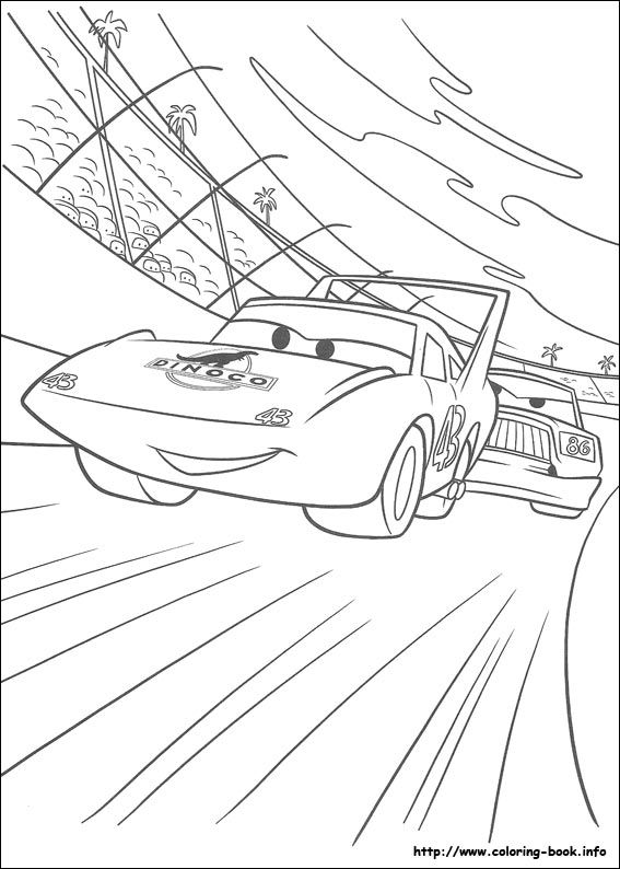 disney pixar cars coloring pages. Cars coloring pages for kids