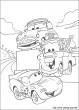 Cars Coloring Pages On Coloring Book Info