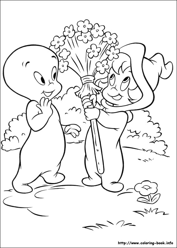 Casper coloring pages on Coloring-Book.info
