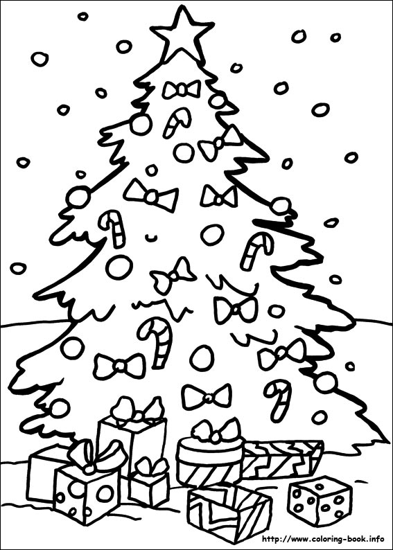 Superb Christmas Coloring Pages On Coloring Book Info Easy Diy Christmas Decorations Tissureus