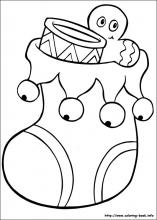 Christmas coloring pages on Coloring Bookinfo