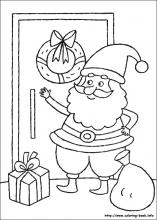 christmas coloring pages on coloring bookinfo - Christmas Coloring Book Printable