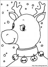 Christmas Coloring Pages On Coloring Book Info