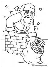 Christmas coloring pages on ColoringBookinfo