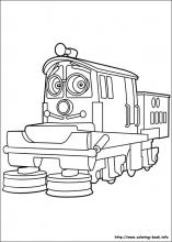 Chuggington Coloring Pages On Coloring Book Info