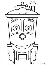Chuggington coloring pages on Coloring Bookinfo