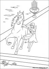 Cinderella coloring pages on ColoringBookinfo