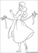 cinderella coloring pages on coloring bookinfo - Coloring Pages Princess Cinderella