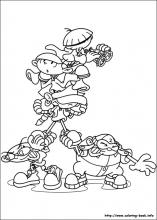 Codename Kids Next Door Coloring Pages On Coloring Book Info