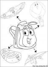 Go Diego go coloring pages on Coloring Bookinfo