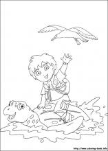 Go, Diego, go! coloring pages on Coloring-Book.info