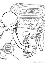 Digimon coloring pages on Coloring Bookinfo