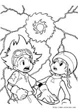 Digimon coloring pages on Coloring-Book.info
