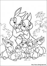 bunnies coloring pages Disney Bunnies coloring pages on Coloring Book.info bunnies coloring pages