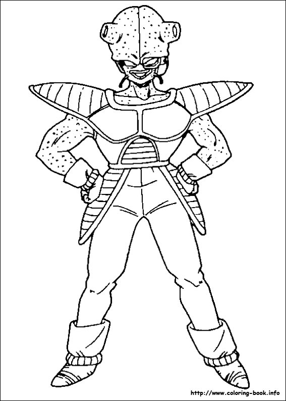 Dragon Ball Z Coloring Pages 74 Pictures To Print And Color Last Updated November 19th