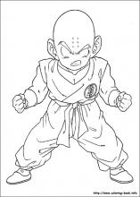 Dragon Ball Z coloring pages on ColoringBookinfo