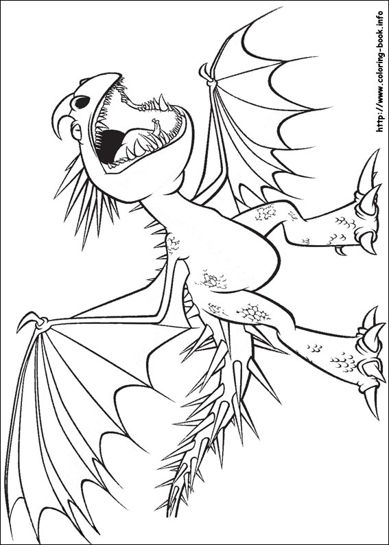 Coloring Pages 18 How To Train Your Dragon Pictures Print And Color Last Updated August 17th