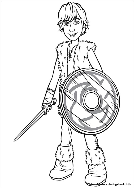 How to train your dragon coloring pages on Coloring-Book.info