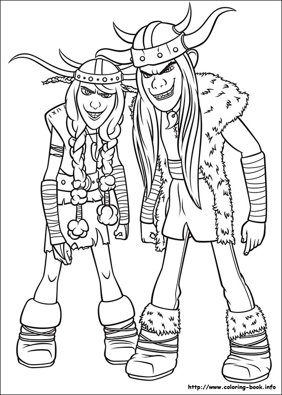 How To Train Your Dragon Coloring Picture How To Your Coloring Page