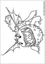 How to train your dragon coloring pages on ColoringBookinfo