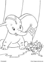 Dumbo coloring pages on ColoringBookinfo