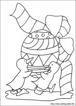 Easter coloring pages on ColoringBookinfo