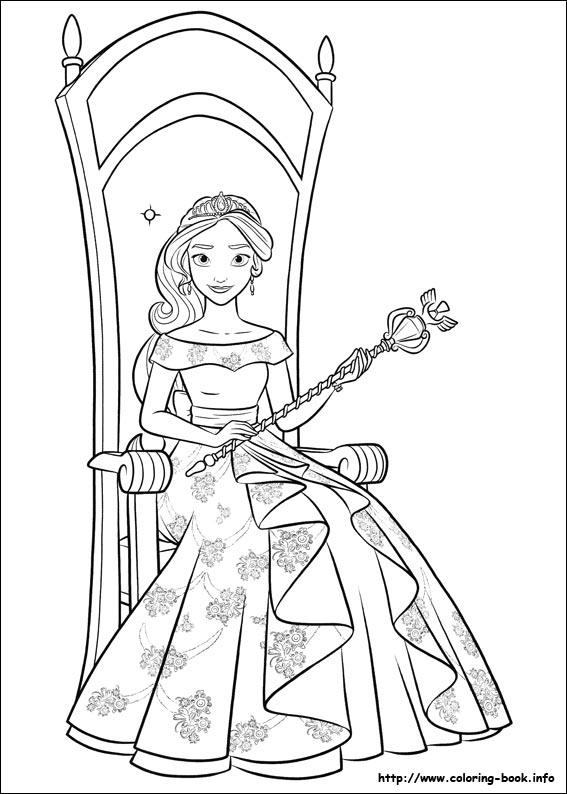 index coloring pages - Elena Coloring Pages