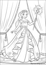 Elena Of Avalor Coloring Pages On Coloring Book Info