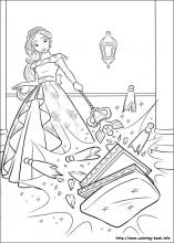 Elena of avalor coloring pages on coloring book info Iliana Coloring Pages Omar Coloring Pages Elena of Avalor Printable Coloring Pages and Her Family