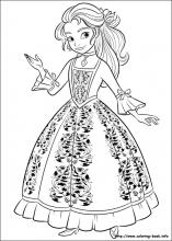 princess elena coloring pages Elena of Avalor coloring pages on Coloring Book.info princess elena coloring pages