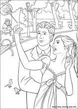 Enchanted Coloring Pages On Book