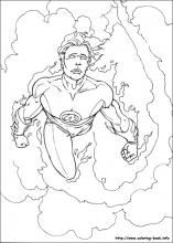 Fantastic Four coloring pages on Coloring-Book.info