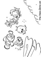 index coloring pages - Finding Nemo Characters Coloring Pages
