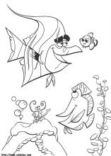 finding nemo coloring pages on coloring bookinfo - Finding Nemo Coloring Book