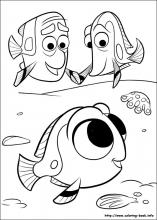 Finding Dory coloring pages on Coloring-Book.info