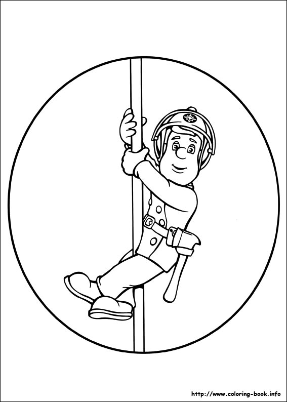 Free Penny Fireman Sam Coloring Pages Sam Coloring Pages