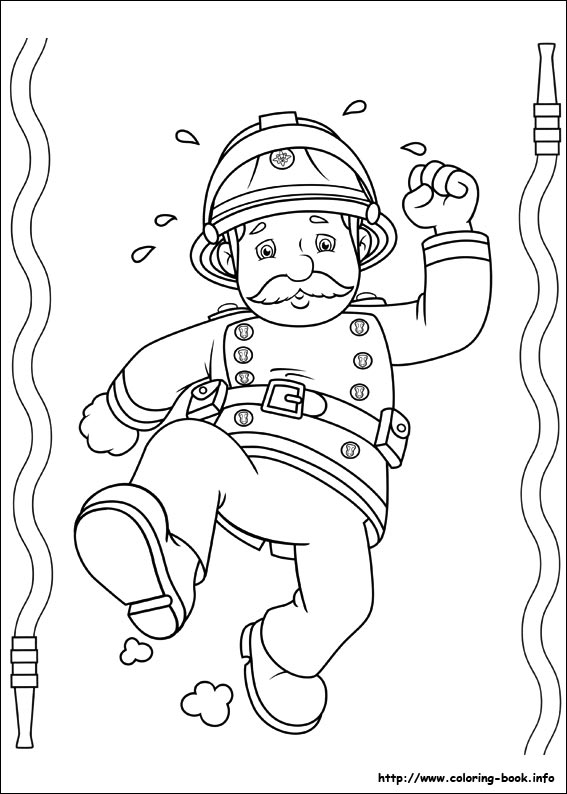 75 fireman sam pictures to print and color last updated september 2nd - Firefighter Coloring Pages