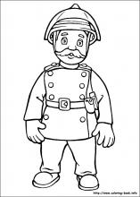 Fireman Sam Coloring Book: Coloring Book for Kids and Adults ... | 220x157